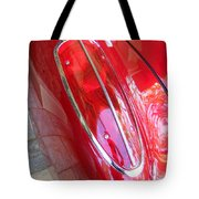 1960 Chevrolet Corvette Tail Light Tote Bag