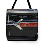 1960 Chevy Impala Tote Bag by Mike McGlothlen