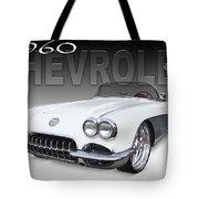 1960 Corvette Tote Bag by Mike McGlothlen