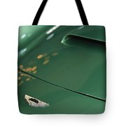 1961 Aston Martin Db4 Series Iv Hood Emblem Tote Bag