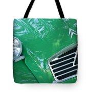 1961 Citroen 2cv Landaulet Hood Emblem Tote Bag