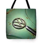 1961 Green Vw Tote Bag