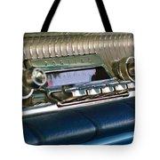 1961 Pontiac Catalina Radio Tote Bag