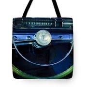 1961 Pontiac Catalina Steering Wheel  Tote Bag