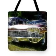 1962 Caddy Cadillac Tote Bag