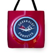 1962 Chevrolet Corvette Emblem Tote Bag