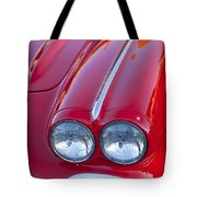 1962 Chevrolet Corvette Headlight Tote Bag