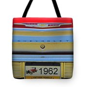 1962 Chevy Impala Ss Tote Bag