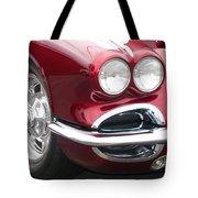 1962 Corvette Tote Bag