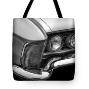 1963 Buick Riviera B/w Tote Bag