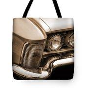 1963 Buick Riviera Sepia Tote Bag