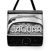 1963 Jaguar Back Up Light Tote Bag