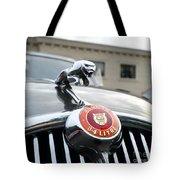 1963 Jaguar Emblem Tote Bag