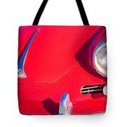 1963 Red Porsche Tote Bag