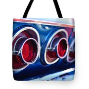 1964 Chevrolet Impala Ss Taillight 2 Tote Bag