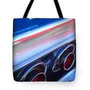 1964 Chevrolet Impala Ss Taillight Tote Bag