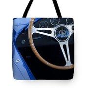 1965 Cobra Sc Steering Wheel 2 Tote Bag
