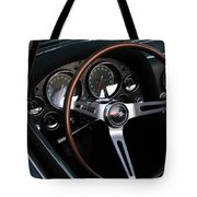 1965 Corvette Roadster Dash Tote Bag