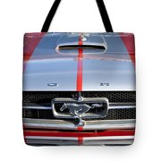 1965 Ford Mustang Front End Tote Bag