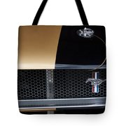 1965 Ford Mustang Grille Emblem 3 Tote Bag