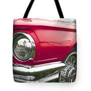1965 Ford Thunderbird Front End Tote Bag