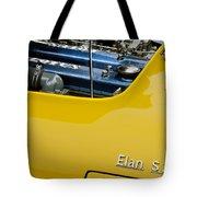 1965 Lotus Elan S2 Engine Tote Bag
