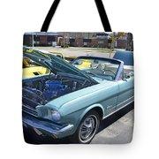 1965 Mustang Convertible Tote Bag