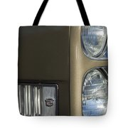 1966 Cadillac Emblem And Headlight Tote Bag