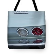 1966 Chevrolet Corvette Tail Light 2 Tote Bag