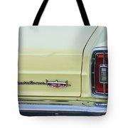 1966 Ford Fairlane Xl Taillight Emblem Tote Bag