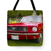 1966 Ford Mustang Tote Bag
