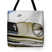 1966 Ford Shelby Gt 350 Grille Emblem Tote Bag