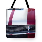 1966 Red Ford Mustang Shelby Gt350 Front Tote Bag