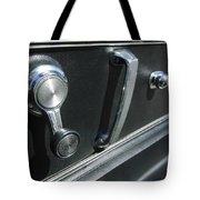 1967 Chevrolet Corvette Door Controls Tote Bag
