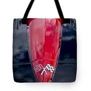1967 Chevrolet Corvette Hood Emblem 5 Tote Bag