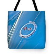 1967 Chevrolet Corvette Rear Emblem Tote Bag