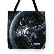 1967 Chevrolet Corvette Steering Wheel Tote Bag