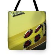 1967 Chevrolet Corvette Taillight Tote Bag