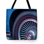 1967 Chevrolet Corvette Wheel 2 Tote Bag