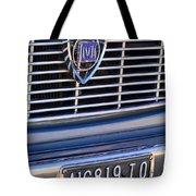1967 Lancia Fulvia Berlina Grille Emblem Tote Bag
