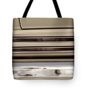 1967 Pontiac Firebird Back Lights Close Up Tote Bag
