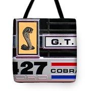 1967 Shelby Cobra Grill Emblem Tote Bag