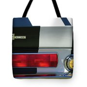 1967 Shelby Gt500 Fastback Taillight Emblem Tote Bag