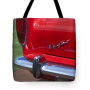 1967 Sunbeam Tiger Taillight Tote Bag