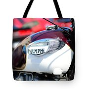 1967 Triumph Gas Tank 3 Tote Bag