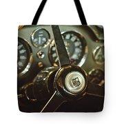 1968 Aston Martin Db6 Steering Wheel Emblem Tote Bag