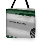 1968 Camaro Cowl Induction Tote Bag