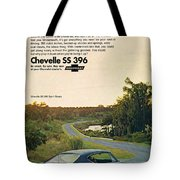 1968 Chevrolet Chevelle Ss 396 - It'd Be A Big Mover On Looks Alone. Tote Bag