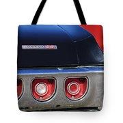 1968 Chevrolet Impala Ss Taillight Emblem Tote Bag