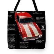 1968 Chevrolet Z/28 Camaro  Tote Bag